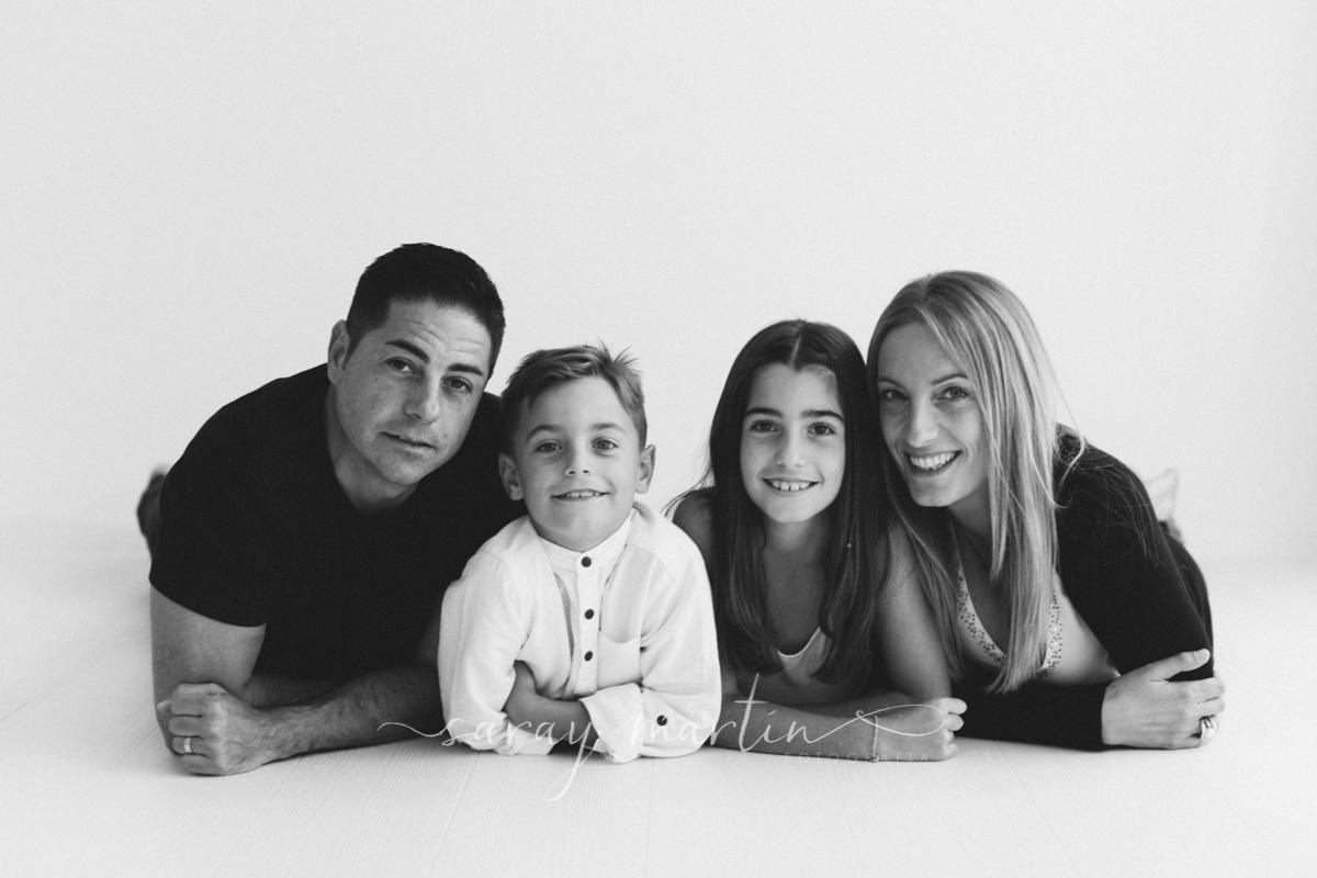 familia tumbada