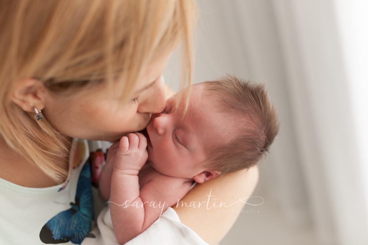 madre con bebe
